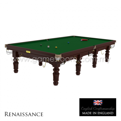 Riley 12ft Renaissance Snooker Table