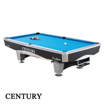 CM1 9ft Century Silver American Pool Table