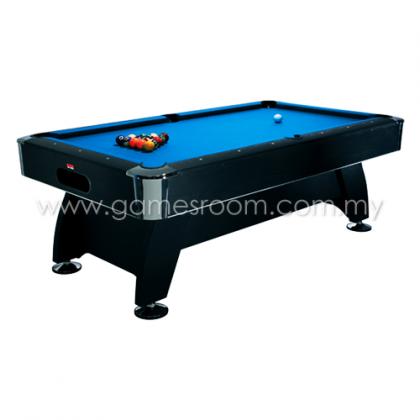 BCE 7ft Black Cat Pool Table