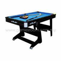 Riley 5ft Rolling Folding Pool Table