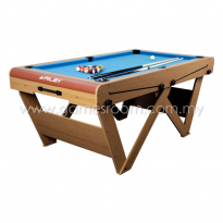 "Riley 6ft ""W"" Leg Pool Table"