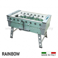 FAS 5ft Rainbow Outdoor Football Table