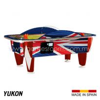 SAM 8ft Yukon Union Jack Air Hockey Table