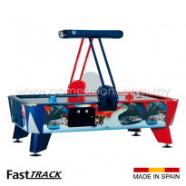 SAM 8ft Fast Track Ice Skating Air Hockey Table