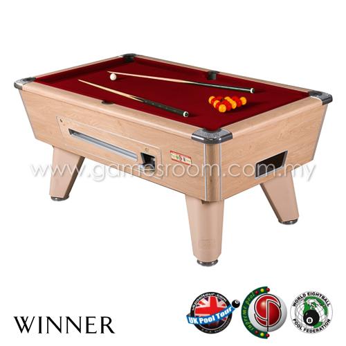 Supreme pool 7ft winner english pool table for Supreme 99 table game