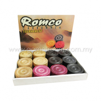 Romco Tournament Carrom Men