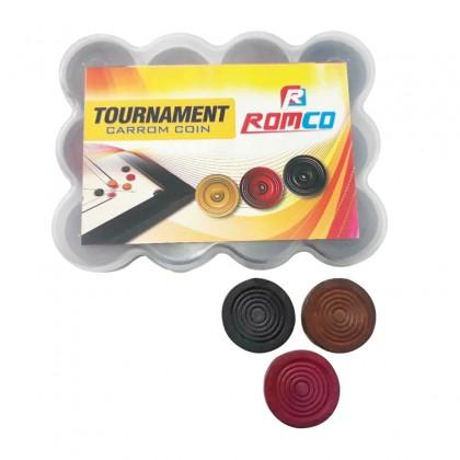 Romco Tournament Carrom Coin