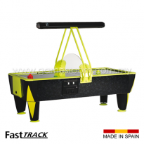 SAM 8ft Fast Track Cosmic Air Hockey Table