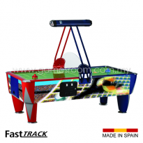 SAM 8ft Fast Track Soccer Air Hockey Table