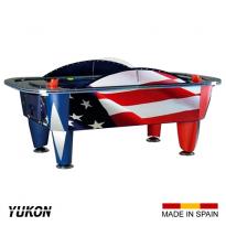 SAM 8ft Yukon Patriot Air Hockey Table