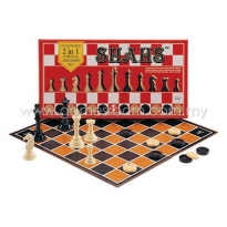 SPM SHAHS - Chess & Checkers Set - Standard