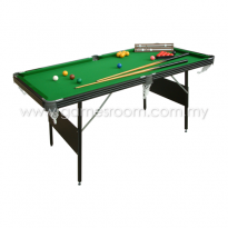 Mightymast Leisure 6ft Crucible Folding Snooker Table