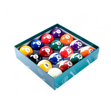 Aramith Premier Spots and Stripes Ball Set - 2in (1 7/8in Cue Ball)