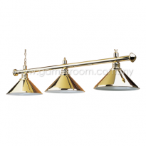 3 Way Lamp Shade (Brass)