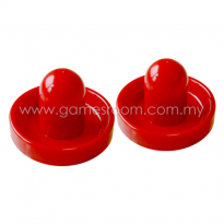 Red Air Hockey Pusher (Pack of 2)