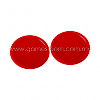 Red Air Hockey Puck - Ø 3in (Pack of 5)