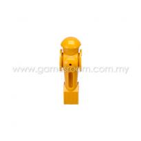 Torpedo Foosball Man - Yellow