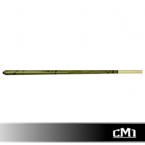 CM1 57in American Pool Cue (Green) - 13mm