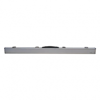 3/4 Joint Hard Cue Case - Aluminium