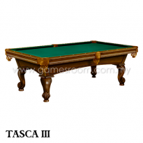 Stylissimo 8ft Tasca III American Pool Table