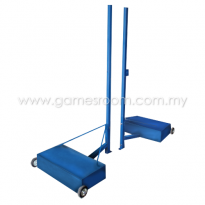 Badminton Post with Weight (Portable)