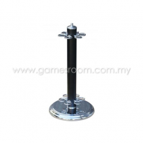 6 Way Cue Stand - Black Chrome