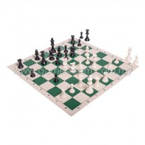 Tournament Solid Plastic Chess Set