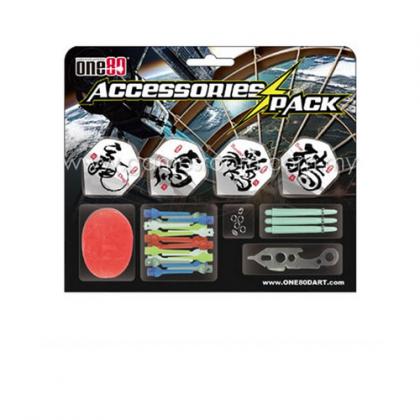 One80 Soft Tip Dart Accessories Kit