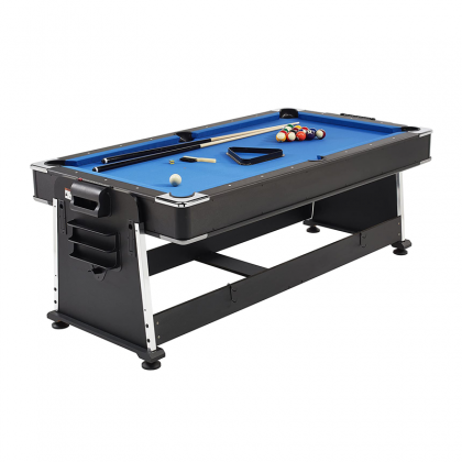 Mightymast Leisure 7ft Revolver Pool, Air Hockey & Table Tennis Table
