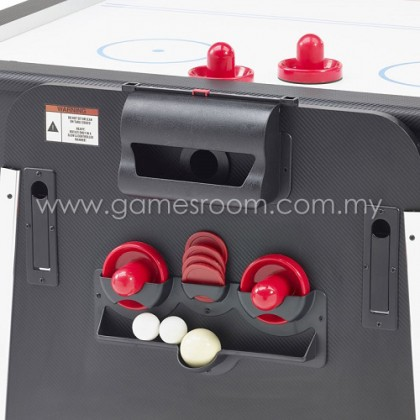 Mightymast Leisure 7ft Revolver Pool, Air Hockey & Table Tennis Table