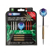 Winmau Deluxe Brass Steel Tip Darts Gift Set