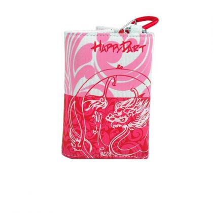One80 Happy Dart Darts Wallet - Red Dragon