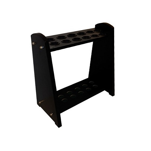 12 Way Wooden Cue Stand