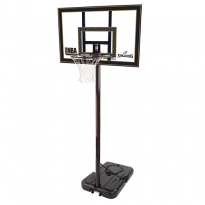Spalding 42in Acrylic Portable Basketball Post
