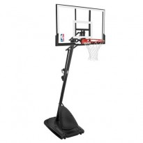 Spalding 48in Acrylic Portable Basketball Post