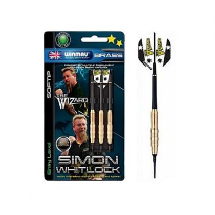 Winmau Simon Whitlock Brass Softip Dart