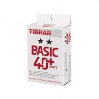 Tibhar 2 Star Basic 40+ Syntt Table Tennis Ball (Box of 6)