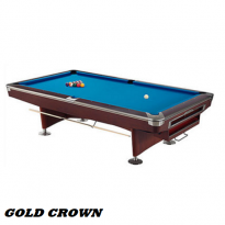 CM1 9ft Gold Crown American Pool Table
