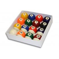 "CM1 Tournament American Pool Balls Set - 2.1/4"""