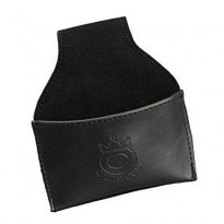 Omin Leather Chalk Holder - Black