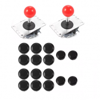Upgrade Original Sanwa Joystick & Button Set (Japan)