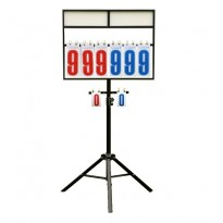 All Star 4 Digit Badminton Scoreboard