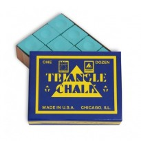 Triangle Chalk - Green (Pack of 12)