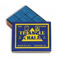 Triangle Chalk - Blue (Pack of 12)