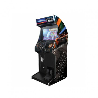 "Arcade X 26"" Racing Arcade Machine - 72 Car Racing Games"