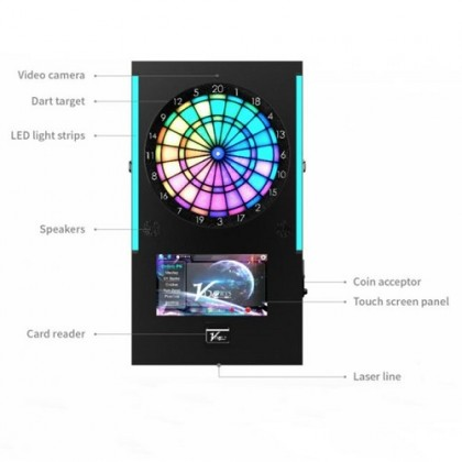 VDarts Mini Plus - 14 inch HD touch screen Commercial Dart Machine