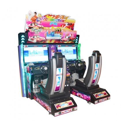 Twin Outrun Racing Simulator Arcade Game