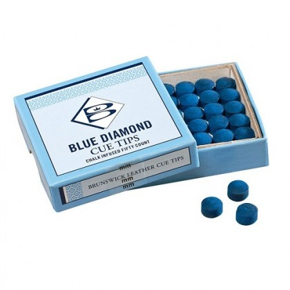 Brunswick Blue Diamond Tips (12mm) - Box of 50