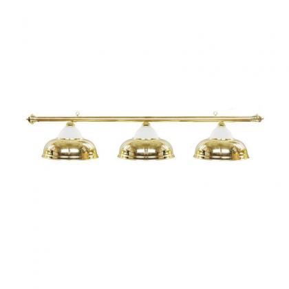 3 Way Lamp Shade (Glass-Brass)